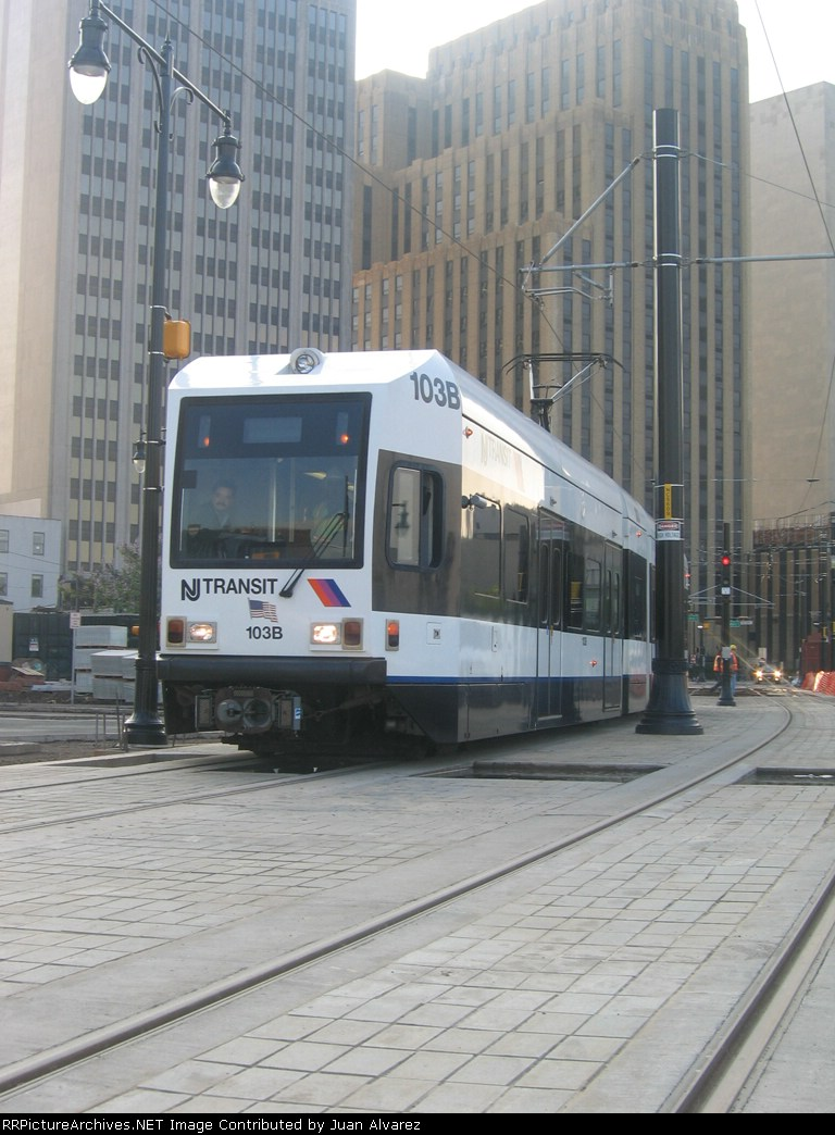 New Newark Light Rail
