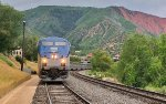 The Zephyr calls at Glenwood Springs