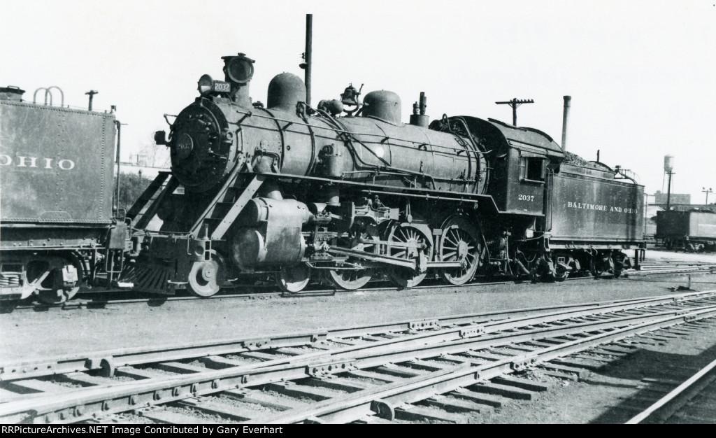 BO 4-6-0 #2037 - Baltimore & Ohio