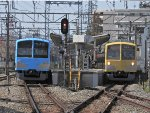 Midway on the Seibu-Tamagawa Line
