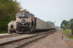 Coal train gets fuel