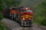 BNSF 8203 leads taconite south