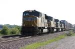 Stack train rumbles along
