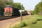 UP 9053 meets DPU on CWEX coal train
