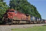 CP 8578 On CSX Q 353 Eastbound