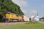 UP 3052 On NS 25 A Eastbound At NS MP CF 30.0