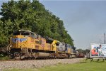 UP 8348 On CSX Q 353 Eastbound