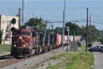 CP 8578 On CSX Q 8578 Eastbound At South Hamilton