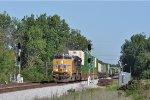 UP 2539 On NS 216 Northbound At Wayne Yard