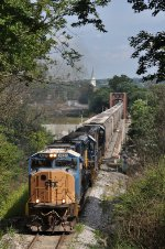 CSXT 4727 On CSX J 784 Westbound Over The Great Miami River