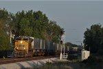 UP 8621 On NS 240 Northbound At Wayne Yard