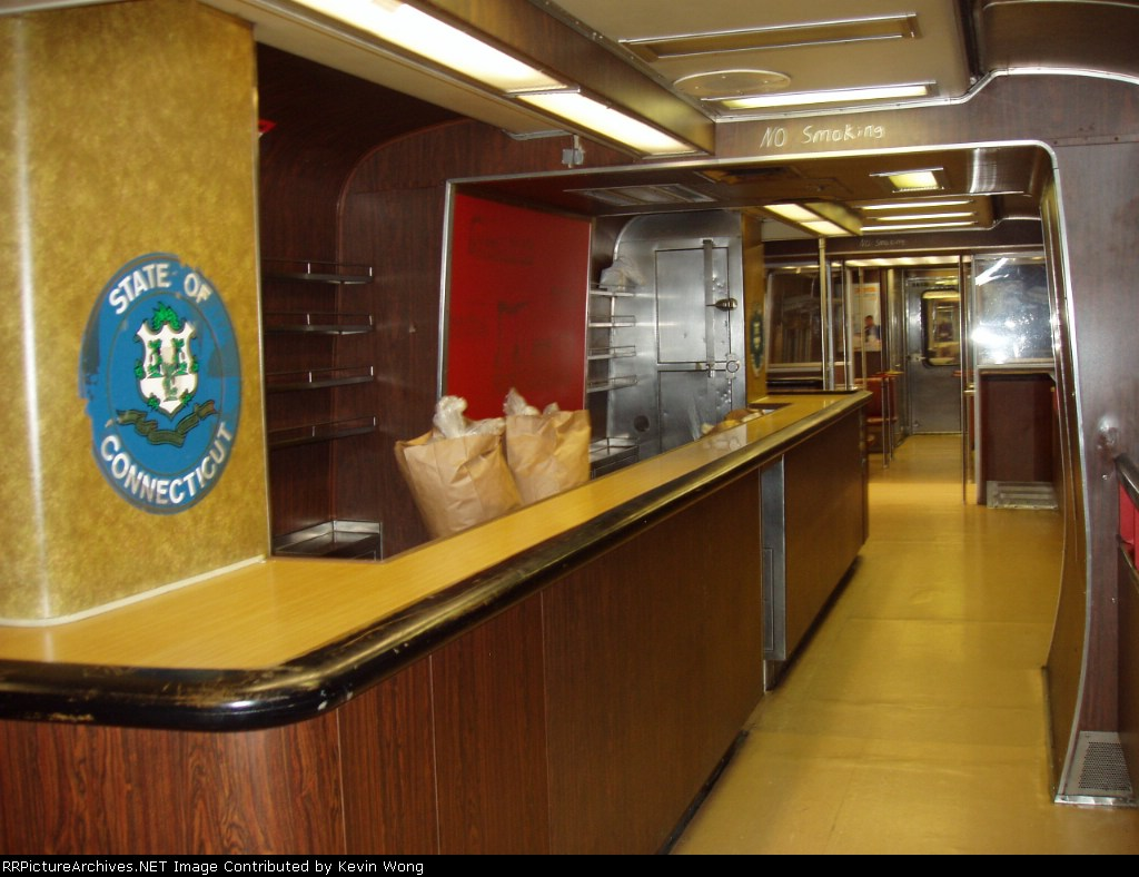 M-2 bar car service counter