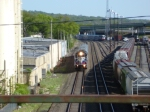Metro-North #51 to Port Jervis passes the NS/NJT yards