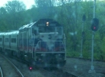 Metro-North Port Jervis train #49 passes northbound