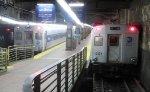 Metro-North Shoreliner cab car 6121 & Comet IIA cab car 6129