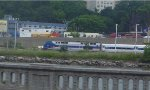 Metro-North P32AC-DM 214 pushing a Hudson Line express