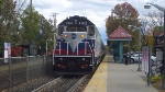Metro-North #64 from Port Jervis heads to Hoboken