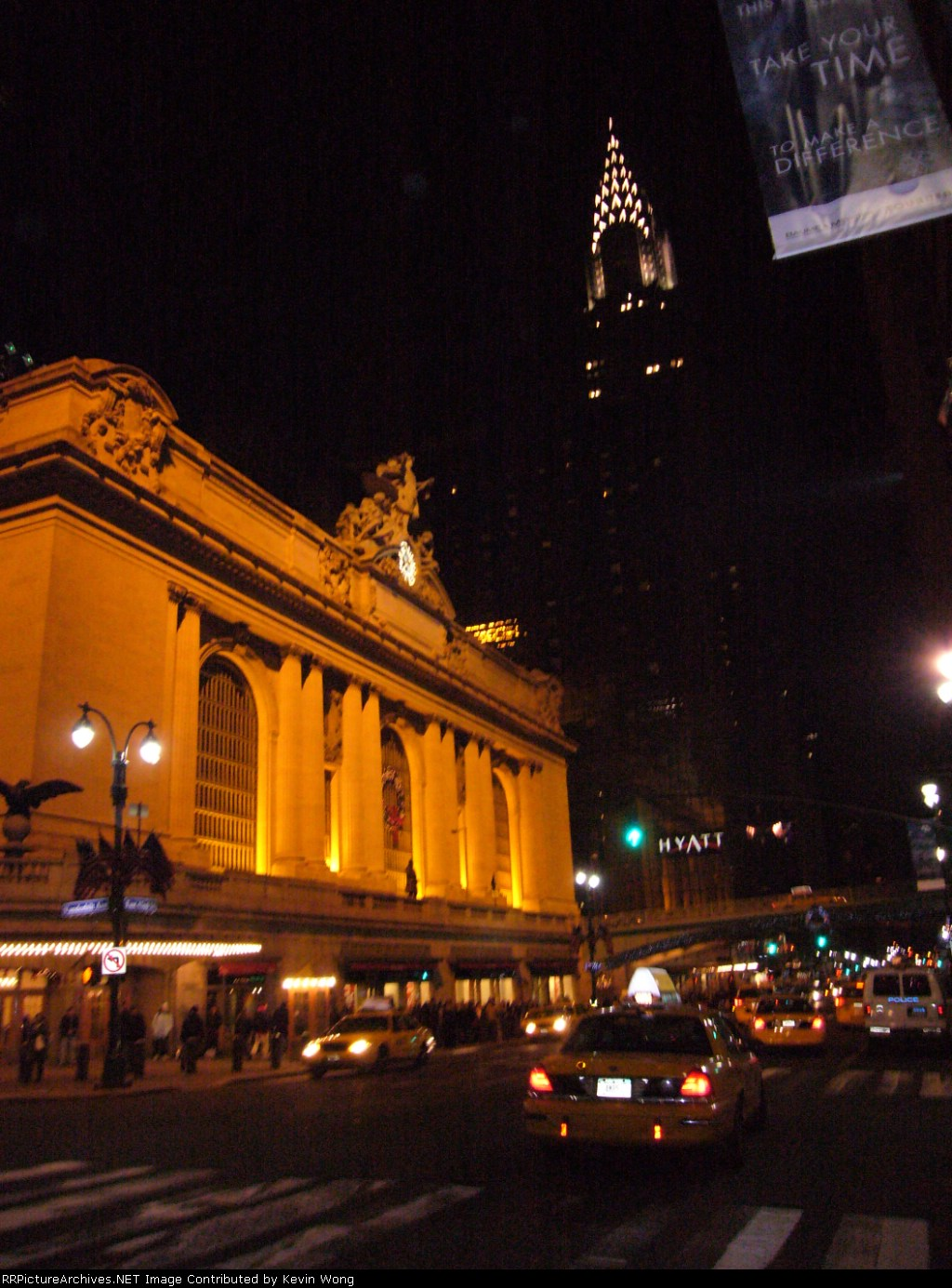 Two New York icons-Grand Central and the Chrysler Building