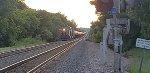 Stopped tanker train