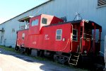 Possibly an ex D&H caboose?