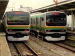 Both at the station