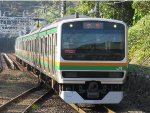 Out of service will head to another yard on the other side of Odawara