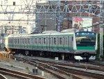Arriving to Shinjuku station on the Saikyo line