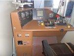 Set of Controls in Locomotive Cab
