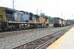 NB freight meet local to Pine Bluff