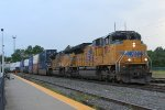 UP NB intermodal