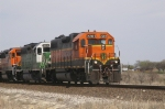 BNSF 2261 leading BNSF 3011 and 3124