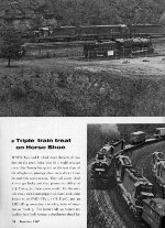 """Triple Train Treat,"" Page 18, 1967"