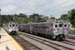 SPAX 294 prepares to lead a train eastbound