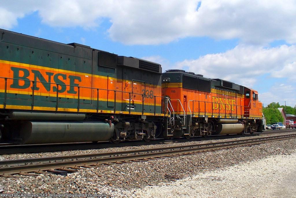 BNSF 115 east