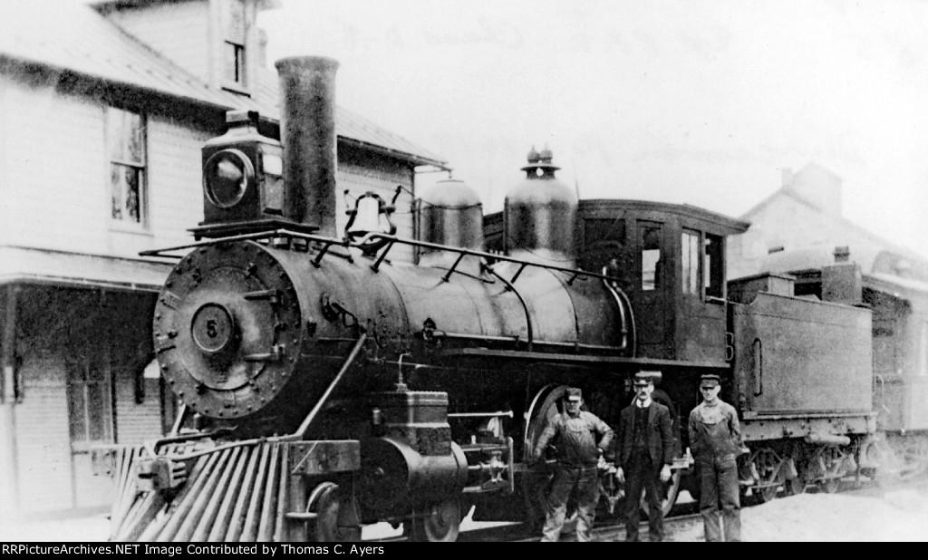 "SR&W 5, ""American,"" 1913"