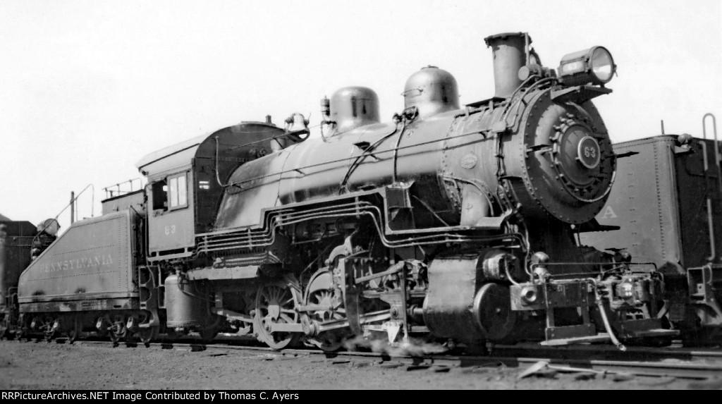 PRR 63, B-6SA, 1949