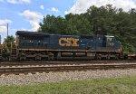 CSX C40-8W 7920 (LMS 702) running third