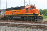 BNSF 2686 leading the Memphis local