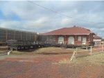 Autoracks at the Guthrie Depot