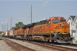 BNSF 4225 On CSX Q 351 Southbound Coming On The NS At Butler St