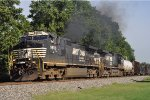 NS 9850 On NS 123 Eastbound