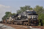 NS 7555 On NS 144 Westbound