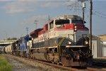 FEC 105 On NS 375 Westbound