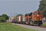 BNSF 4225 On CSX Q 351 Eastbound
