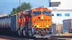 BNSF 3751 leading the EB Ethanol