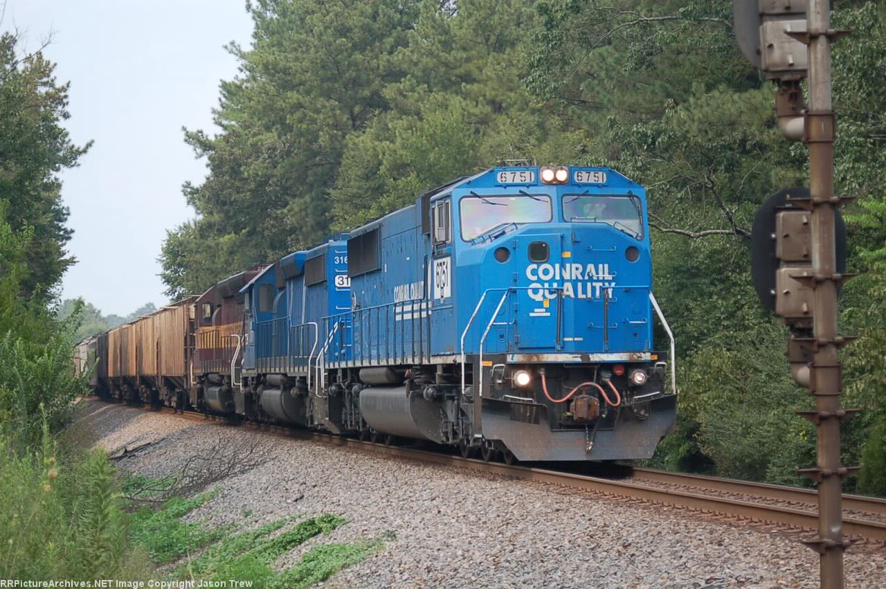 NS 6751 on 52R