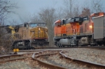 Meet between UP and BNSF