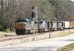 CSX 5122 leads a trio of EMD's