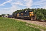 CSX 8099 and 7736 wait for green