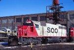 SOO SD40-2 6611